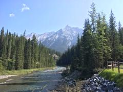 Kurz vor Banff