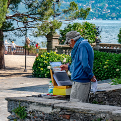 Lago Maggiore, Isola Bella, photography of the past