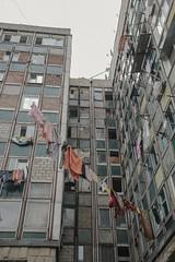 A building in the centre of Chisinau,Moldova