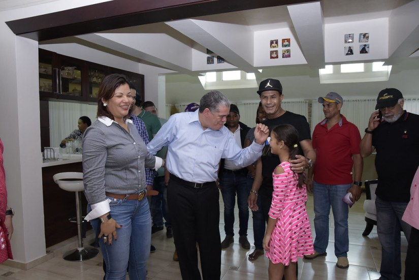 Visita Cortesía al Compañero Raulín, Montecristi 28 de julio 2018