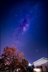 In the backyard - a galaxy