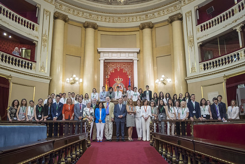 Final Consurso Debate Escolar en el Senado (25/06/2018)