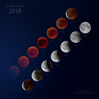 Eclipse lunar 2018