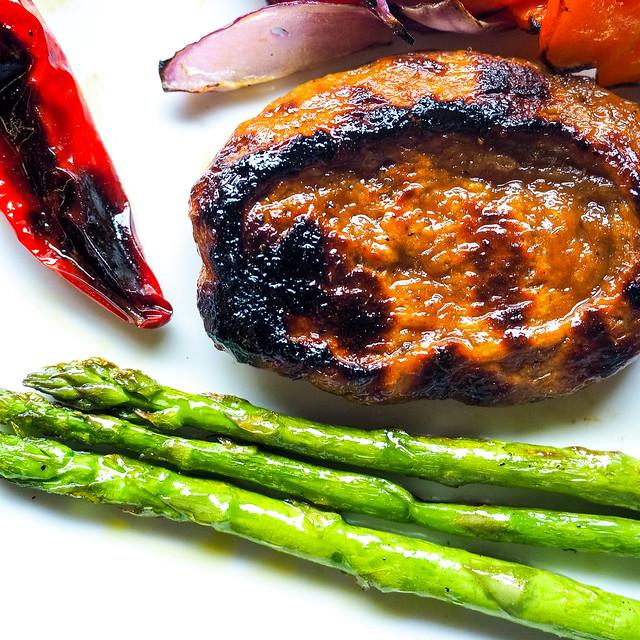 BBQ'd wheat Gluten Steak