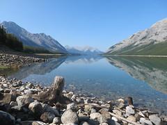 schöne Morgenstimmung am Spray Lake