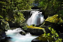 Falls on Elliot Creek