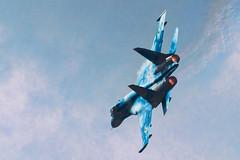 RIAT 2018 - 58 Blue | Sukhoi SU-27 | EGVA - FFD