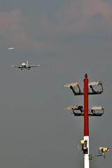 AY 1437 aus Helsinki im Landeanflug in Tegel...