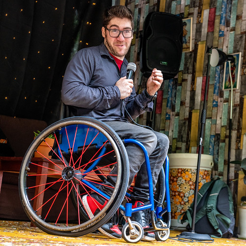 Aaron Simmonds at Hastings Fringe Comedy Festival 2018