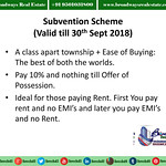 Subvention Payment Plan of Omaxe The Resort Mullanpur