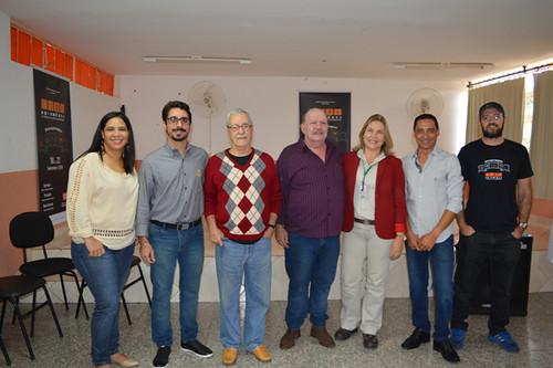 Marilene Ferreira, Rodlon, Bigode, Godoy, Leida, Éderson e Alisson