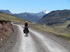 Aufstieg zum Pass Abra Sungrar