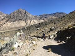 Aufstieg Punta Ushuayca