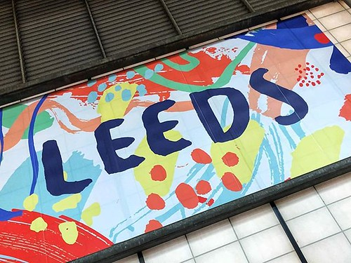 Today is all about...a day trip to Leeds for work