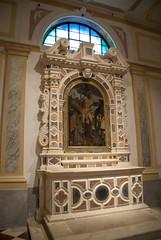 altare dei santi rocco e sebastiano.