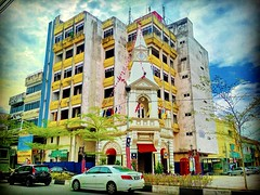 Clock Tower (fomerly Ng Boo Bee Fountain ) 34000 Taiping, Perak https://goo.gl/maps/eRK8mTMfLHx #Gebäude #byggnad #costruzione #bâtiment #batiment #edificio #voyage #viaggio #viaje #resa #Semester #Fiesta #Vacanza #Vacances #Reise #Urlaub #Taiping #Malays