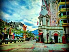 Clock Tower (fomerly Ng Boo Bee Fountain ) 34000 Taiping, Perak https://goo.gl/maps/eRK8mTMfLHx #Gebäude #byggnad #costruzione #bâtiment #batiment #edificio #voyage #viaggio #viaje #resa #Semester #Fiesta #Vacanza #Vacances #Reise #Urlaub #Taiping #travel