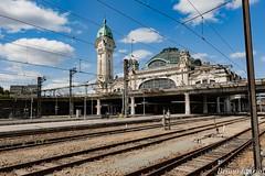 Rails et  Voies  de Gare de Limoges - Limoges - 87 - France