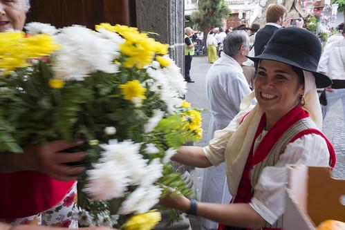 Ofrenda Virgen del Pino - Teror (07/09/2018)