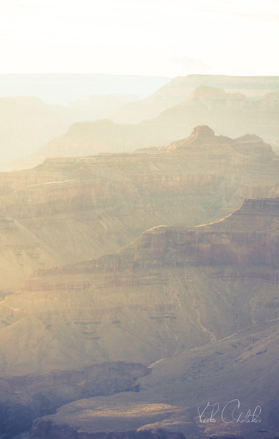 Grand Canyon's grandeur drenched in sunlight