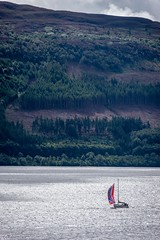 Sailboat on Loch Ness