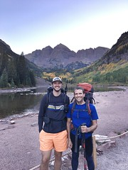 Matt and I at Maroon Lake