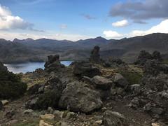 Aussicht kurz vor dem letzten Pass vor Huancavelica
