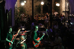 Saturday night band at Punto G