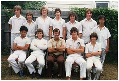 Williamstown CYMS Cricket Club - 1980-81 - Runners Up - U16