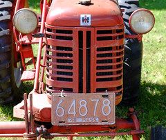Old MA Tractor