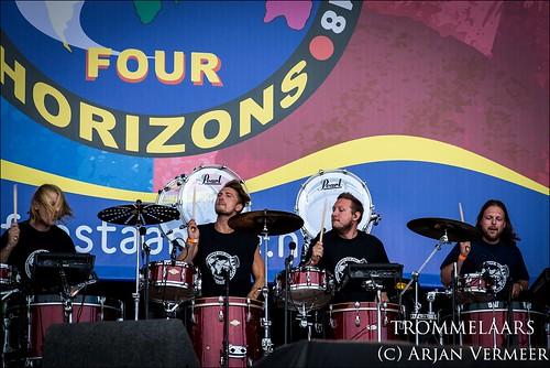 """Four Horizons - 2000 drummers at sea • <a style=""""font-size:0.8em;"""" href=""""http://www.flickr.com/photos/49926820@N08/44552213922/"""" target=""""_blank"""">View on Flickr</a>"""