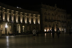 but the square was still busy (3am)