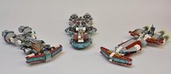 Famille de corvettes !