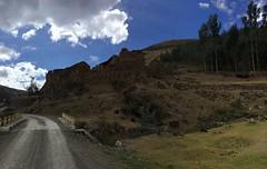 Ruine auf dem Weg nach Paucartambo