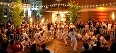 2018-9-8 Grupo Ondas Capoeira at WaterFire (Photograph by John Nickerson) (2)