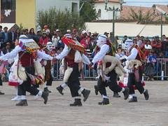 Ringelringelreihe Patron Franzisco de Assisi wird in Maras gefeiert.