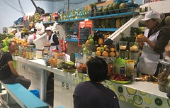 Unsere geliebte Jugerias, hier im Markt in Ayacucho.