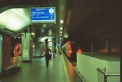 空港からの電車