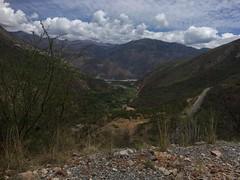 Aussicht auf Callebamba runter