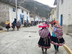 Gasse in Paucartambo