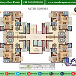florence-park-aster-tower-B-floor-cluster-plan