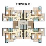 ambika-la-parisian-tromphe-tower-B-cluster-plan