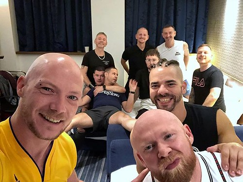 Today is all about...Bill's stag do...day 2