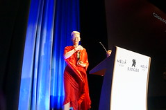"Tilda Swinton en el Festival de Cine de Sitges 2018 • <a style=""font-size:0.8em;"" href=""http://www.flickr.com/photos/66091014@N00/44193872115/"" target=""_blank"">View on Flickr</a>"
