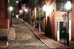 Boston | Beacon Hill Acorn Street 02