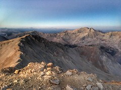 Looking west from the summit of Missouri Mountain