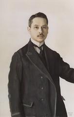 1909 - Autorretrato - Konstantin Somov