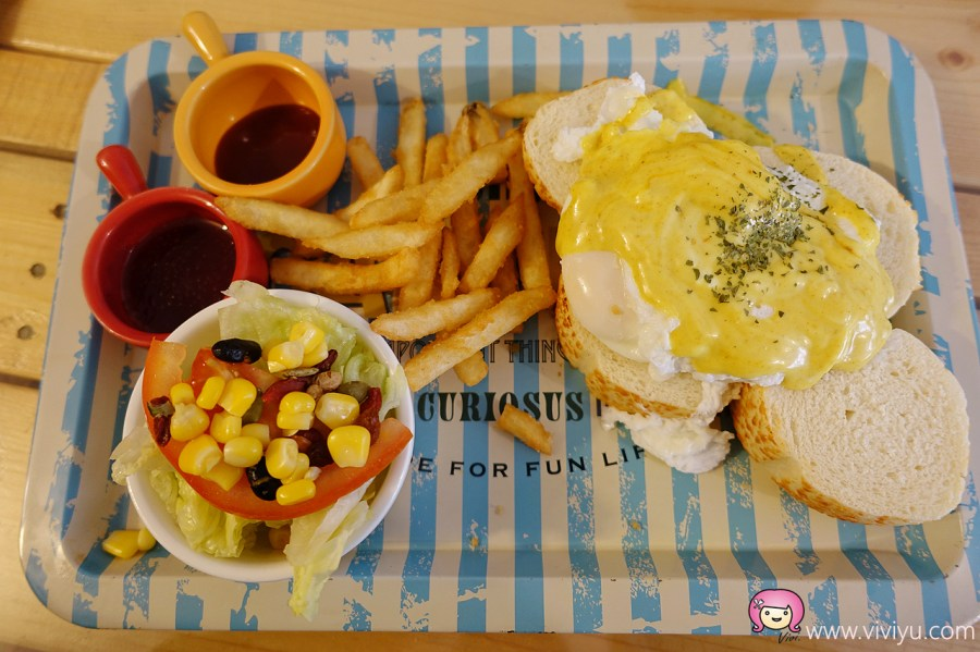 Sometimes Brunch,有食早午餐,桃園早午餐,桃園美食,歐姆蛋,龜山美食,龜山銘傳大學 @VIVIYU小世界