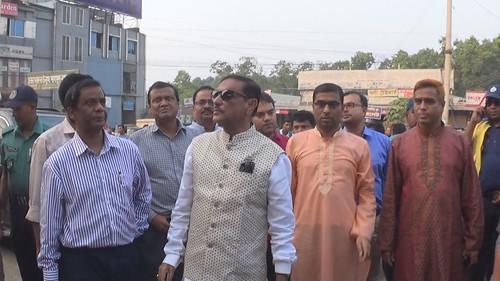 Gazipur-(2)- 19 October 2018-Minister Obaydul Kader-1