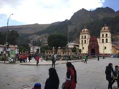 Plaza de Armas in Huancavelica